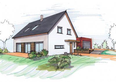 Maison O à Eckwersheim