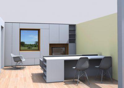 Réaménagement maison F à Bouxwiller