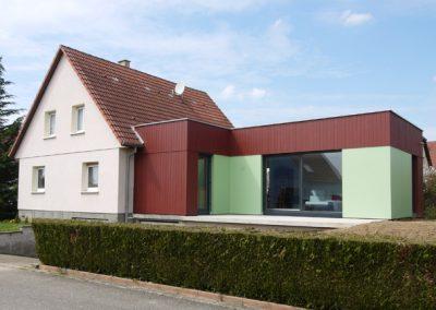 Extension maison G à Schwindratzheim