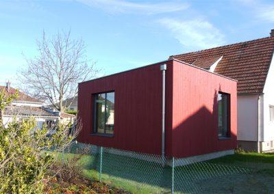 Extension maison T à Souffelweyersheim