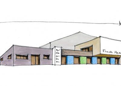 Extension d'un bâtiment aéronautique à Haguenau