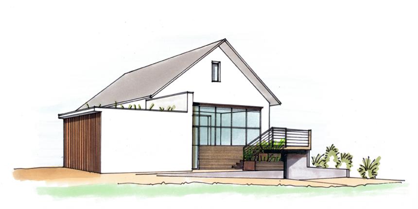 2018 – Construction d'une véranda à Brumath (mission complète)