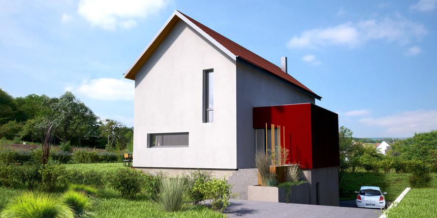 Maison M à Obermodern