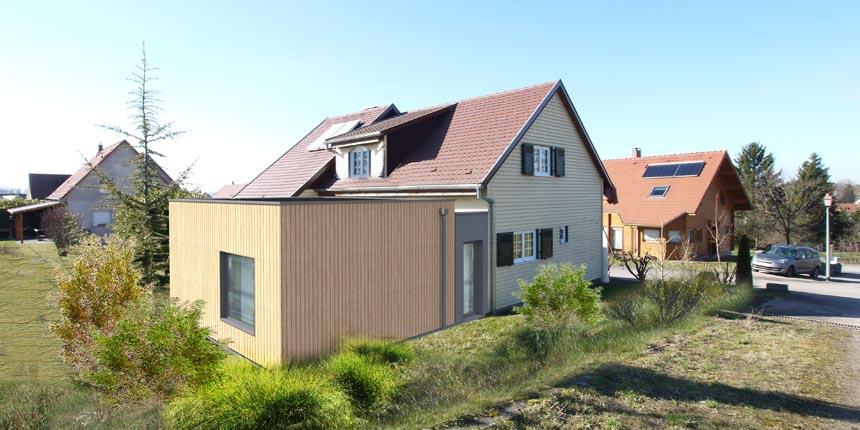Extension maison G à Gougenheim