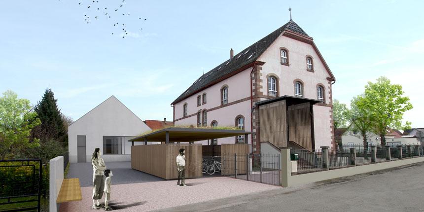 Extension de l'école élémentaire de Boofzheim