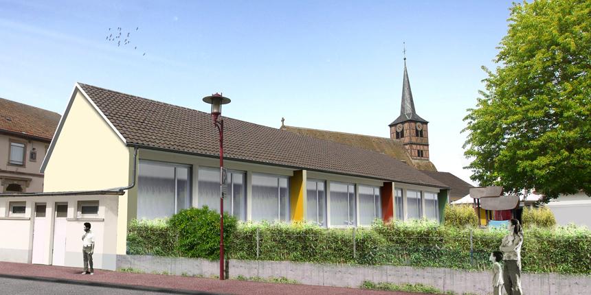 2019 – Rénovation thermique de l'école maternelle du Nord à Illkirch-Graffenstaden – mission complète