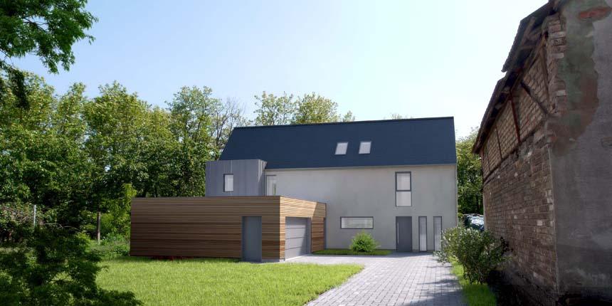2020 – Construction d'une maison à Oberhoffen-sur-Moder (mission complète)