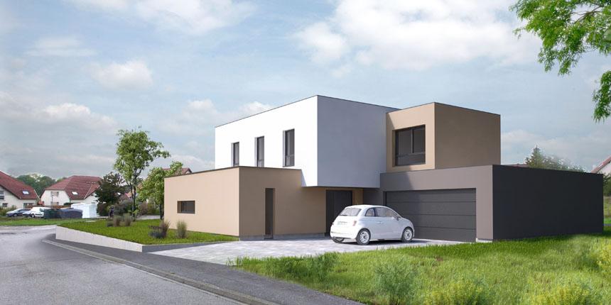 2020 – Construction d'une maison à Wittersheim (mission PC)